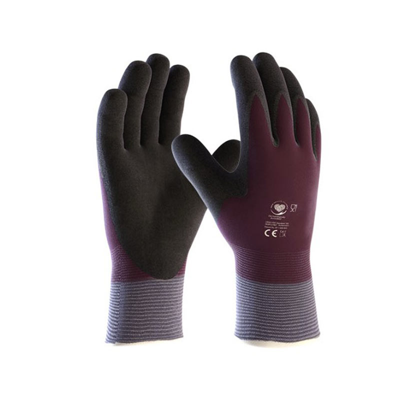 Gant en nitrile protection froid anti coupure - Gant anti coupure ...