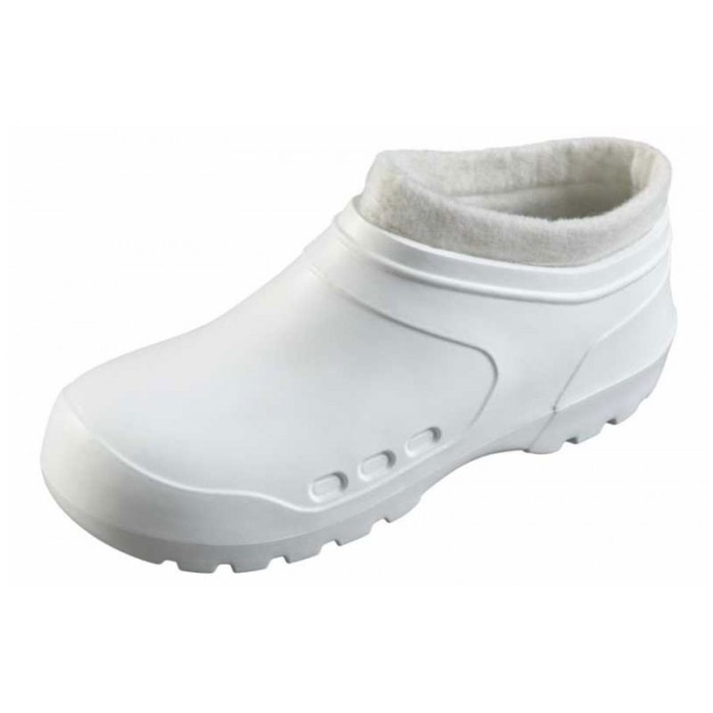 white-safety-clog
